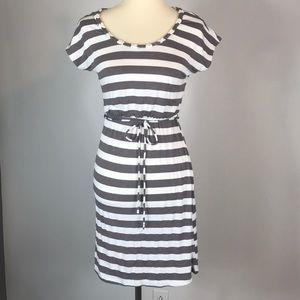 Striped Comfy Mini Dress